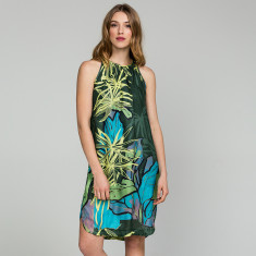 Tropical Strappy Dress