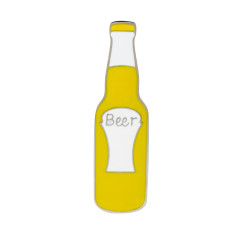 Beer Bottle Brooch