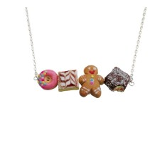 Bakery decisions necklace