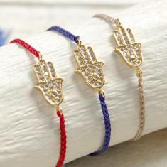 Hamsa Hand Friendship Bracelet