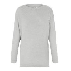 Avignon sweater in Grey with Silver