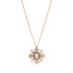 The Fine Sovereign Star Necklace - Gold