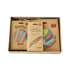 Elastics, Tapestry Kit and Friendship Bracelet gift set