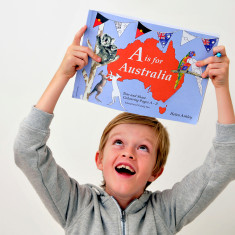 A is for Australia colouring book