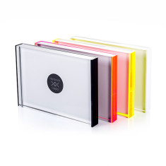 Form acrylic perspex picture frame (various colours)