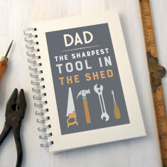 Personalised Sharpest Tool Diy Notebook