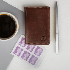 The Caldana Mini Pocket Leather Address Book