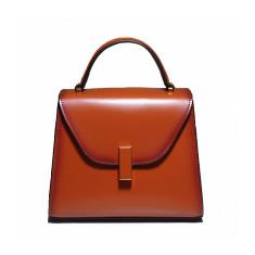 Leather Pattern Shoulder Tote Bag