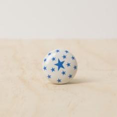 Blue stars knob