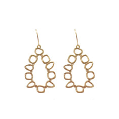 Abstract dangles (gold)