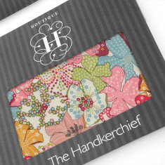 Mauvey Liberty Hankies (set of 2)