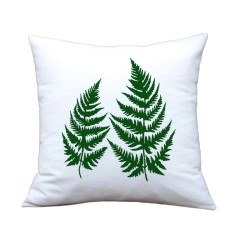 Fern handmade cushion cover