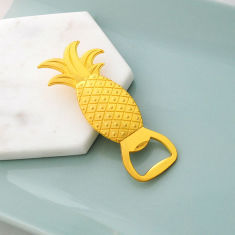 Tropic pineapple bottle opener