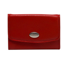 Adele coin purse in red