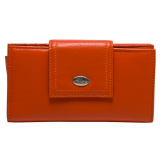 Adele large credit card wallet in orange