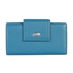 Adele large wallet in blue