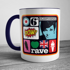 Pop Art Coffee Mug Two