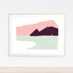 Echo Landscape art print