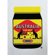 Aussiemite tea towel