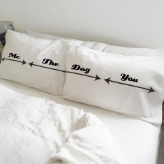 Me / The Dog / You Pillowcase Set