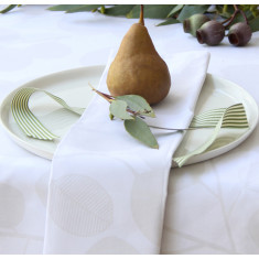 Napkins (set of 4) Eucalyptus Snow