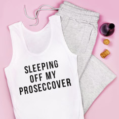 Sleeping off My Proseccover Pyjamas