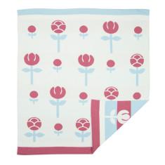 WEEGOAMIGO Journee Knit Blanket - Tulip