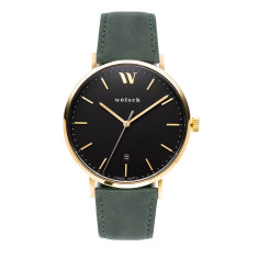 Versa 40 Watch In Gold with Army Green Band