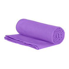 Classic Quick Dry Towel in Purple for Gym, Camp & Travel