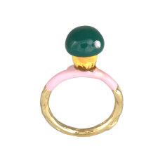 Green Mushroom Ring