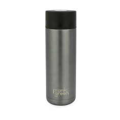 Frank Green Stainless Steel Smart Bottle 20oz - Gunmetal Grey / Black / Harbour Mist Water Bottle