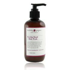 Rosehip hand and body wash