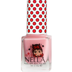Peel off kids' nail polish in Cheeky bunny glitter (non toxic)