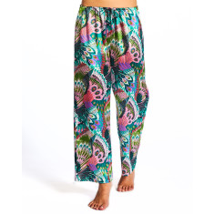 Tropics Crop Pant In Bag Green & Black