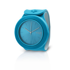 Light blue and off white Aight watch