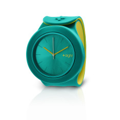 Green and pine yellow Aight watch