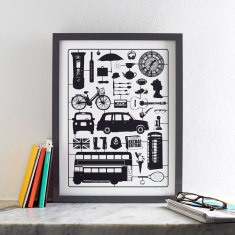 Airfix london screen print