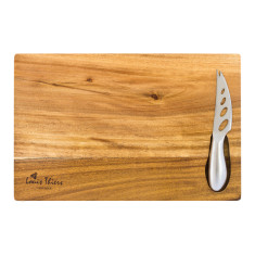 Laguiole by Louis Thiers cheese board with knife