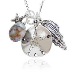 Seashore necklace