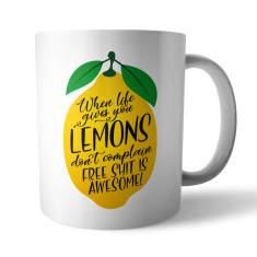Lemons Ceramic Mug