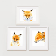 Woodland animals prints 5