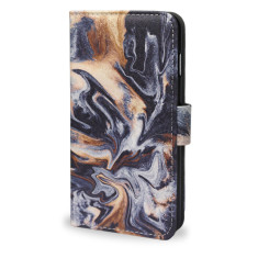 Gold Veins Marble iPhone 7 Plus Smartphone Wallet Case