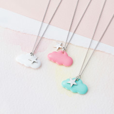 Dreaming in the clouds necklace