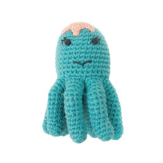 Okay Octopus Weegoamigo Crochet Rattle