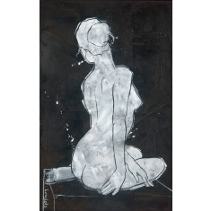 Seated Nude No. 3 Print