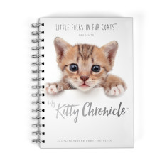 Personalised keepsake - First baby book for Cats