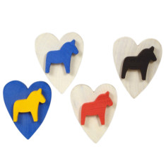Horse magnets (pack of 4)
