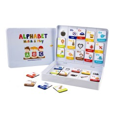 Alphabet match & play game