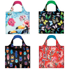 LOQI wild collection reusable bag (various designs)
