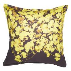 Bloom Gold European pillowcase